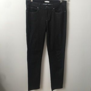 Eileen Fisher Black Jeans Organic Cotton Blend